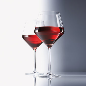 Pure Red Wine Glasses - Set of 6
