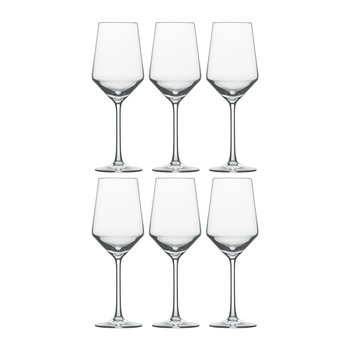 Pure White Wine Glasses - Set of 6