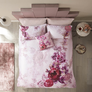 Splendor Duvet Cover - Pink