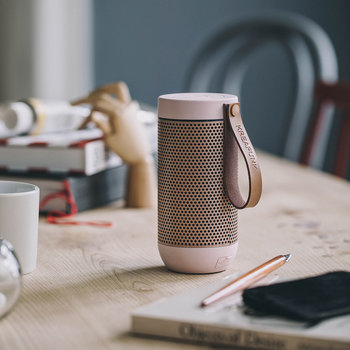 aFunk 360 Degrees Bluetooth Speaker - Dusty Pink/Rose Gold