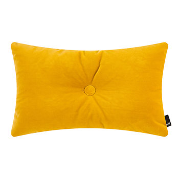 Velour Dot Pillow - 45x60cm - Yellow