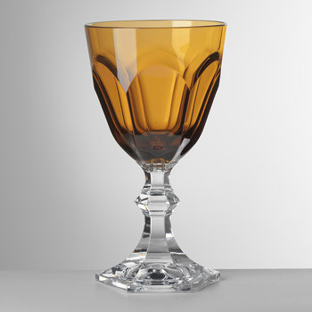 High Dolce Vita Acrylic Wine Glass - Amber