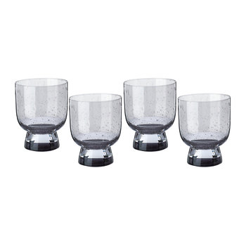 Ciro Glass Tumblers - Grey - Set of 4