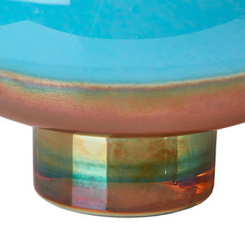 Horizon Bowl - Aqua/Gold