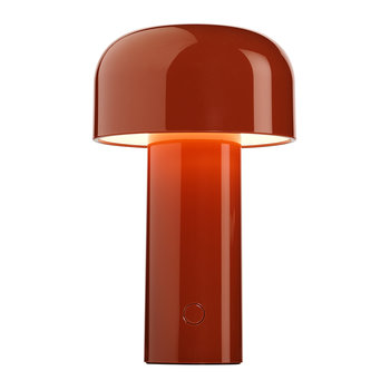 Bellhop Portable Rechargeable Table Lamp - Brick Red