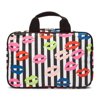Stripe Lip Blot Wash Bag