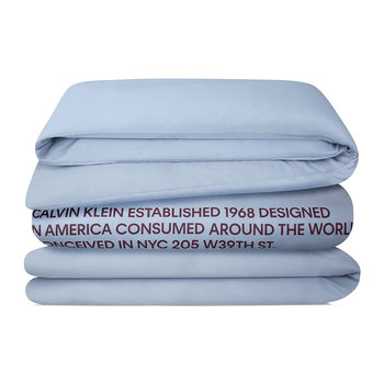 Klein Duvet Cover - Light Blue
