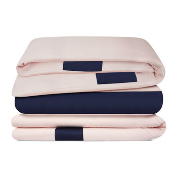 Niccolo Duvet Cover - Pink/Navy
