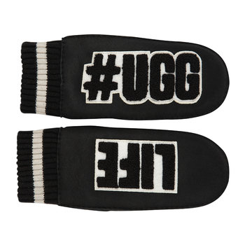 #Ugglife Mittens - Black