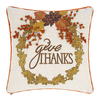 Give Thanks Cushion - 45x45cm