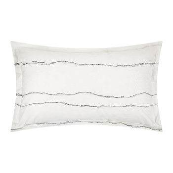 Ripped Waves Bed Set - Grey - Double
