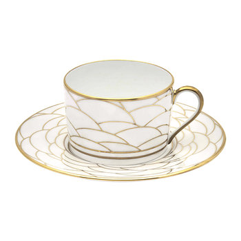 Art Deco Teacup & Saucer