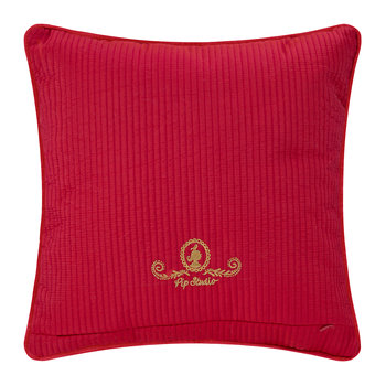 Indian Festival Cushion - 40x40cm - Red