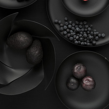 Twist Again Fruit Bowl - Black