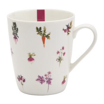 China Mug - Botanical Vegetables