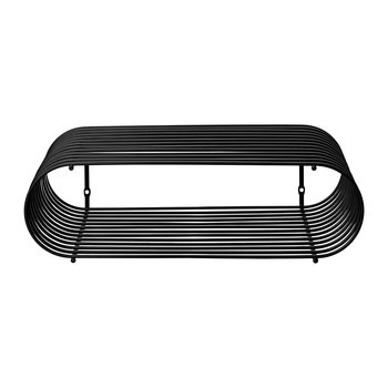 Curva Shelf - Black - Small