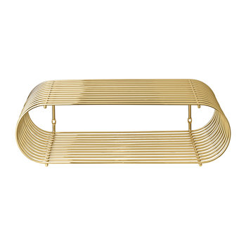 Curva Shelf - Gold