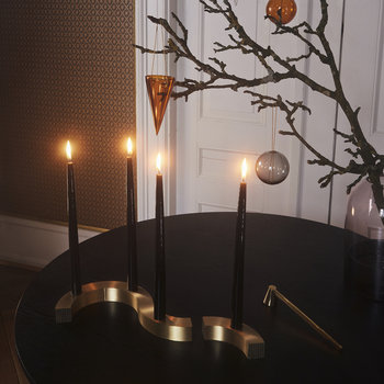 Unum Candle Holder - Gold