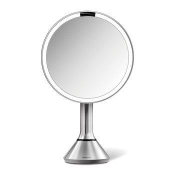 Sensor Mirror with Brightness Control - Brushed Steel