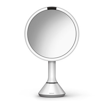 Sensor Mirror with Brightness Control - White
