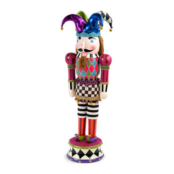Jester Nutcracker Decorative Ornament