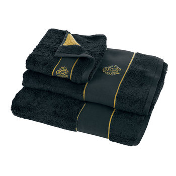 Gold Towel - Blue/Black