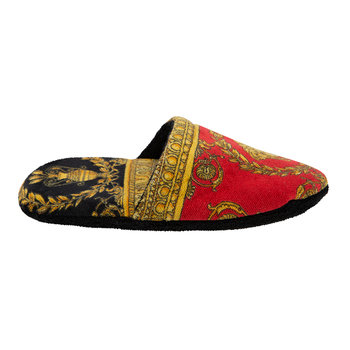 I Love Baroque Slippers - Black/Red/Gold
