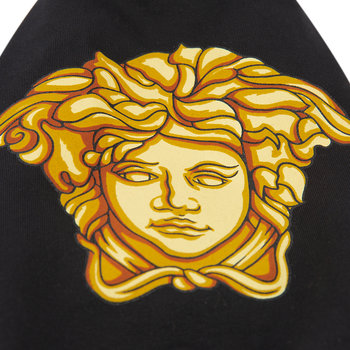 Medusa Dog T-Shirt - Black/Gold