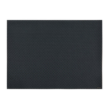 Basketweave Rectangle Placemat - Navy
