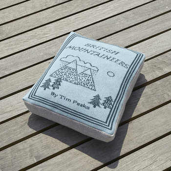 Book Cover Shaped Pillow - 42x42cm - Mountaineers