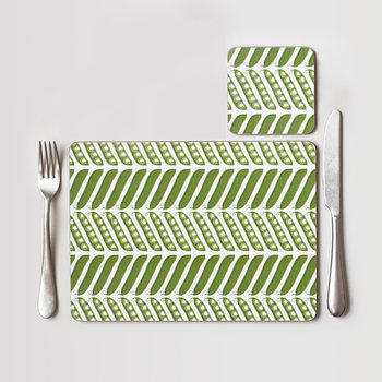 Pea Pod Coaster - Set of 4