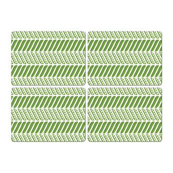 Pea Pod Placemat - Set of 4