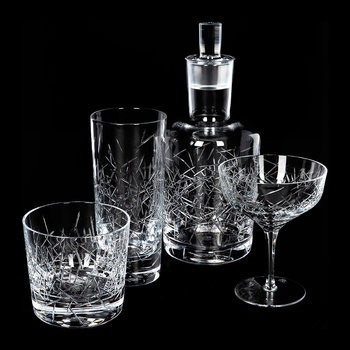 Hommage Glace Long Drink Glasses - Set of 2