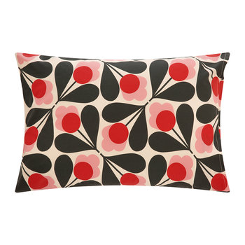 Sycamore Seed Pillowcase - Fuchsia - Set of 2