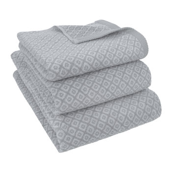 Grey Diamond Towel