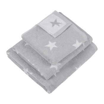 Grey Star Towel