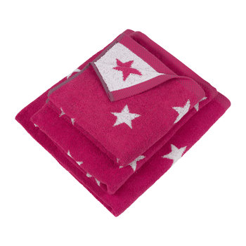 Pink Star Towel