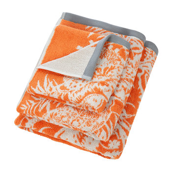 Toco Towel - Papaya & Slate
