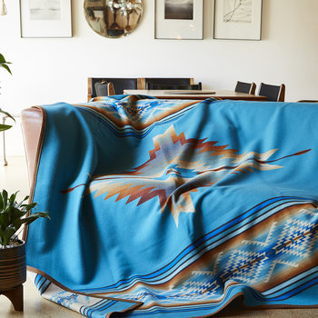 Pagosa Springs Robe - Turquoise