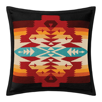 Tucson Feltbound Reversible Cushion - Scarlet