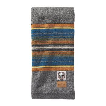 National Park Blanket - Olympic Gray
