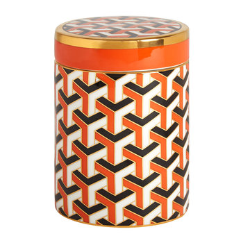 Versailles Canister - Orange