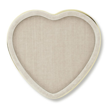 Valentina Velvet Heart Tray - London Fog