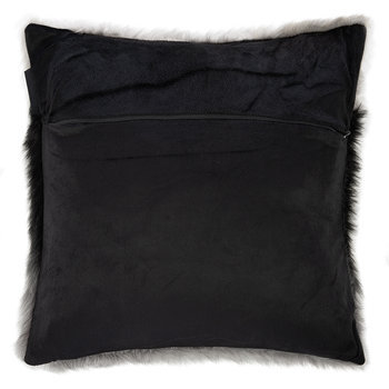 Erin Cushion - Black/Grey - 48x48cm