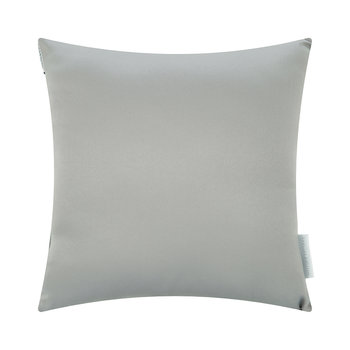 Square Crystal Bed Pillow - Silver - 30x30cm