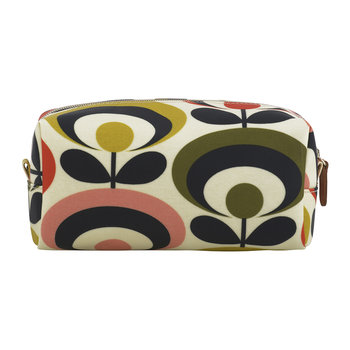70s Oval Cosmetic Bag