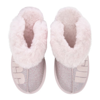 Women's Coquette Sparkle Slippers - Seashell Pink