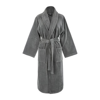 Slate Velour Bathrobe