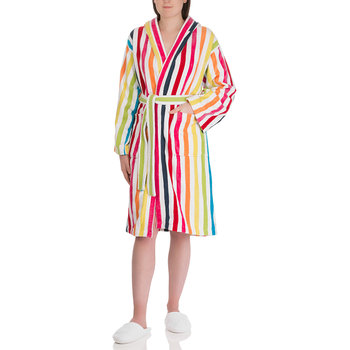 Rainbow Stripe Bathrobe