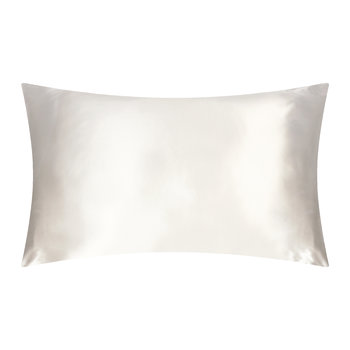 Pure Silk Pillowcase - White